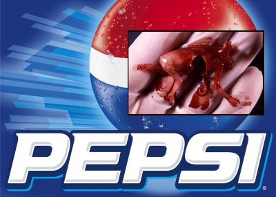 Pepsi abortion flavor drink research